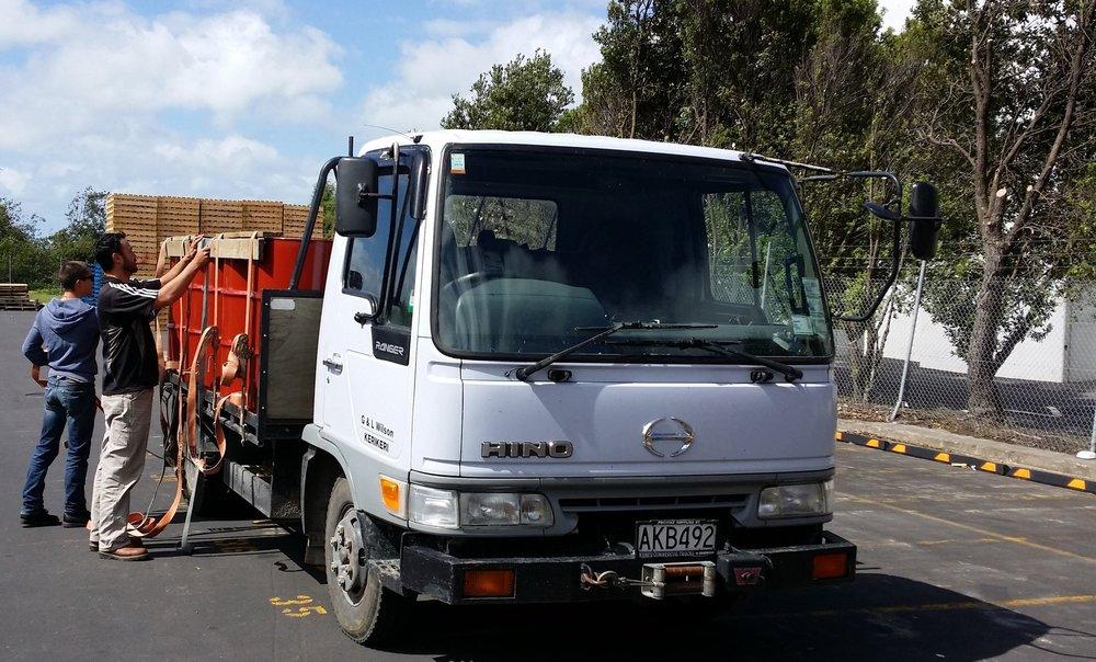 Mana Kai Honey Truck