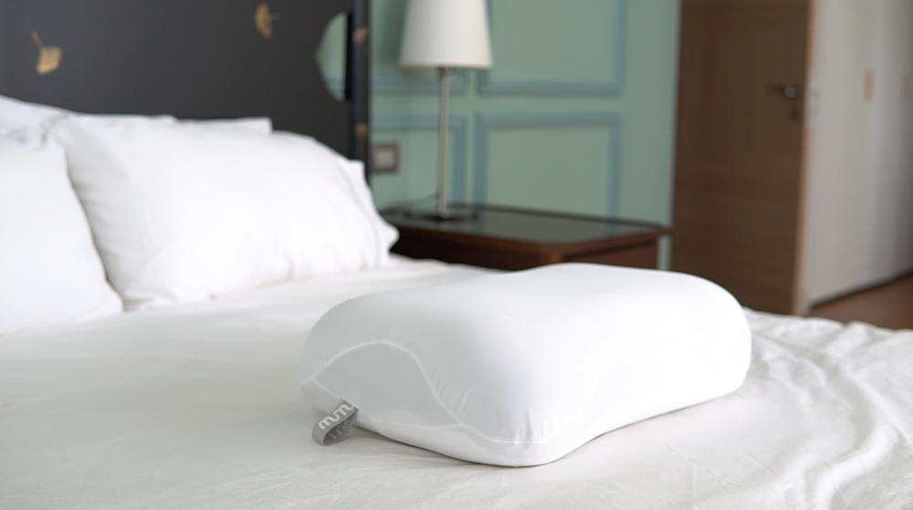WE ASKED OURSELVES, WHY WERE PILLOWS LIMITED TO JUST FOAM AND FEATHERS? - It's what's inside that counts.