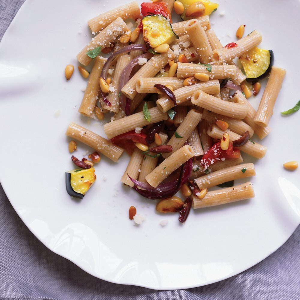 Whole Wheat Rigatoni - with Roasted Vegetables