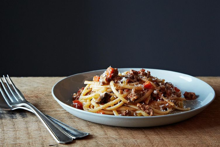 Genius Bolognese - (way easier than the classic)
