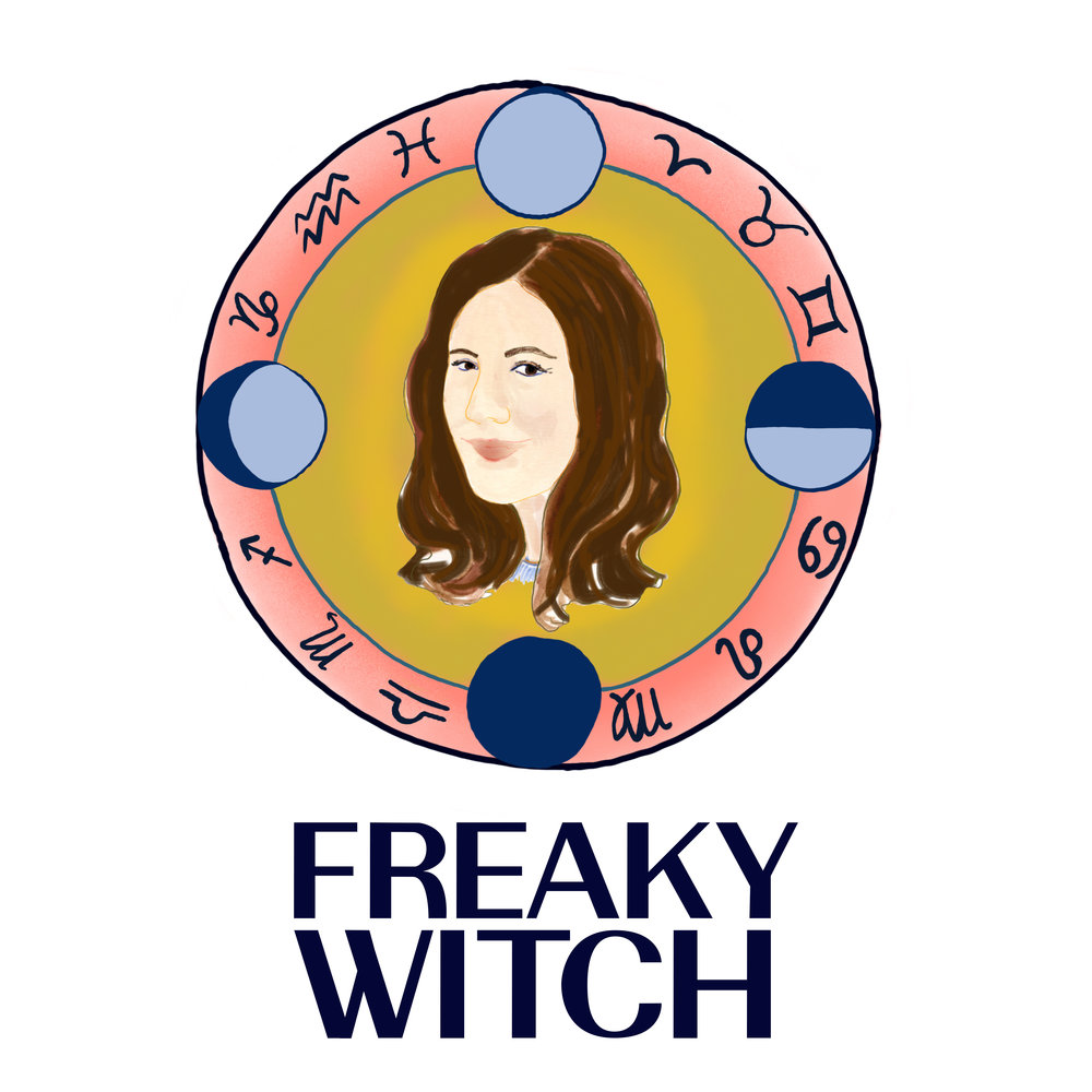FREAKY WITCH LOGO
