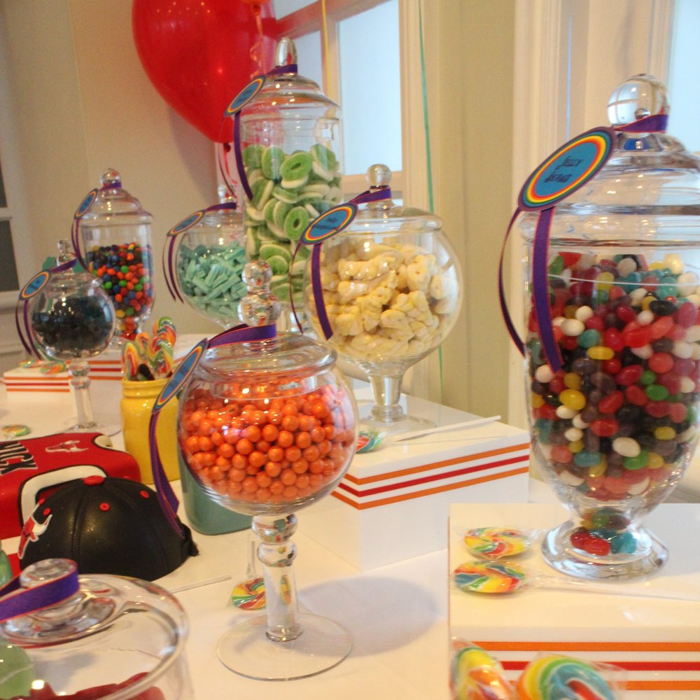 Additional Lolly Filled Jars