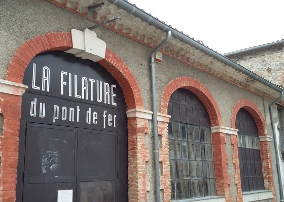 Artist Residency in Lasalle, France. An old silk factory.