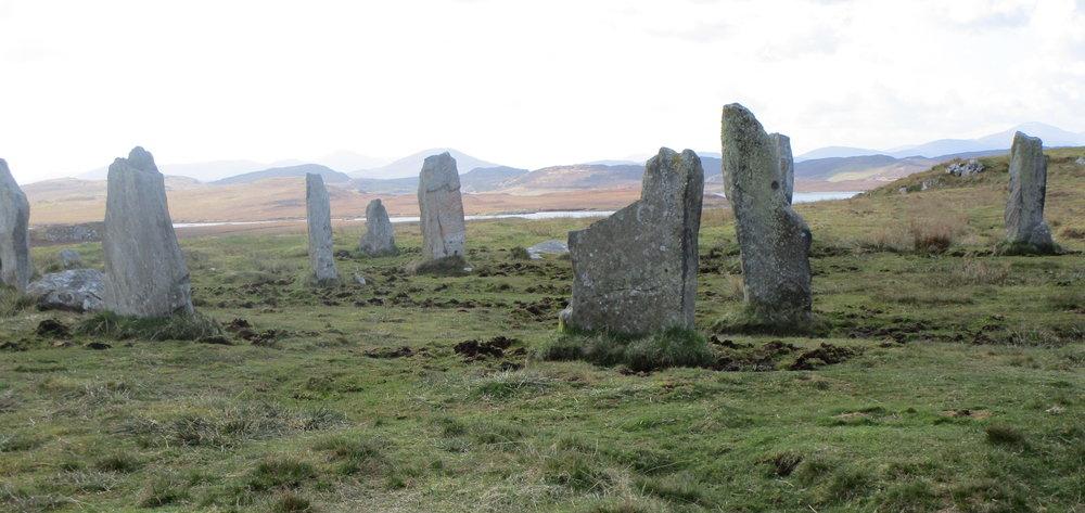 Callanish III ( Cnoc Fillibhir Bheag) stone circle, Island of Lewis