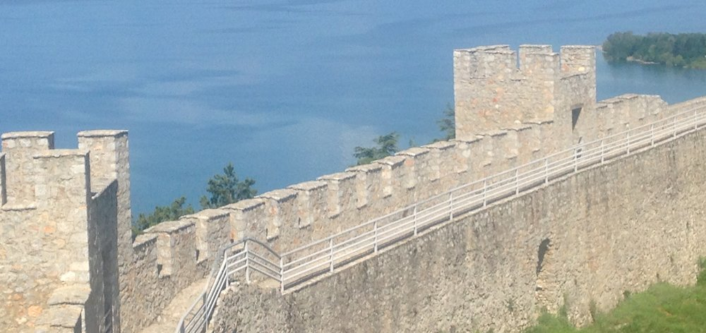 Tsar Samuel's Fortress,Ohrid, Macedonia