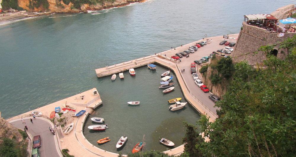 View of Ulcinj Harbour, Montenegro