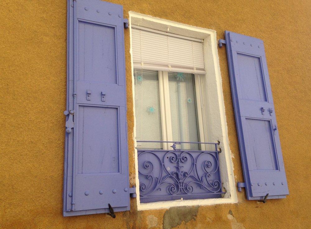 My favourite shuttered window ( La Fenêtre )