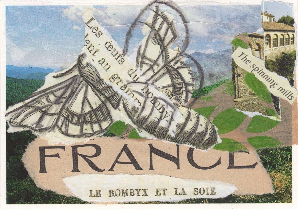 Le Bombyx et La Soie (the moth and the silk)