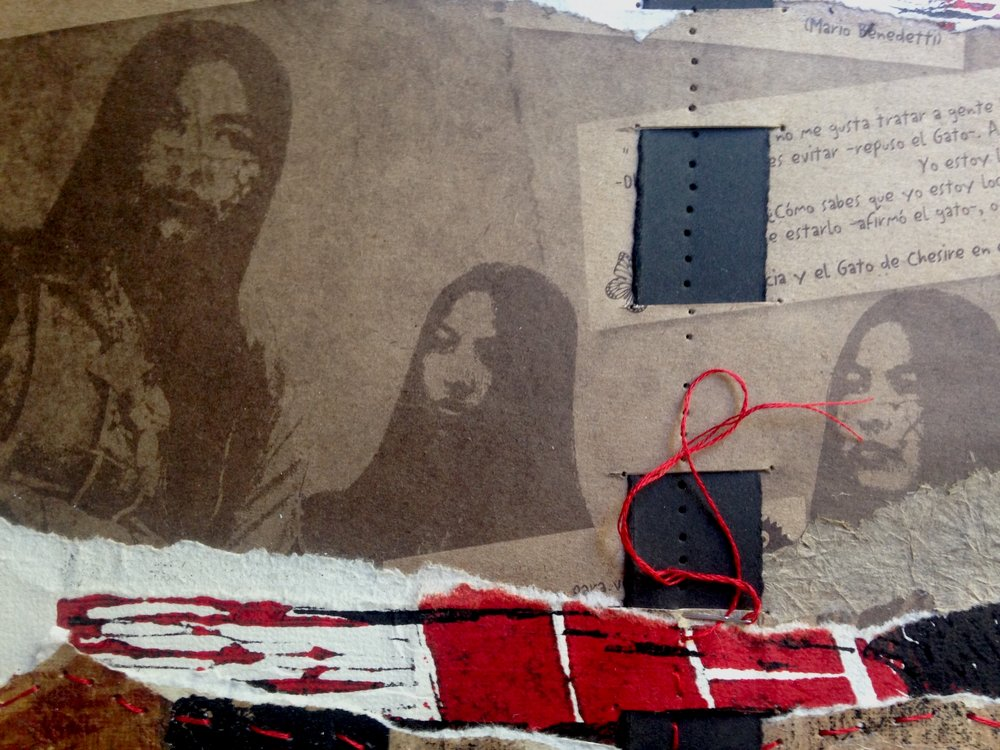 Libertad (Freedom) -detail of collage