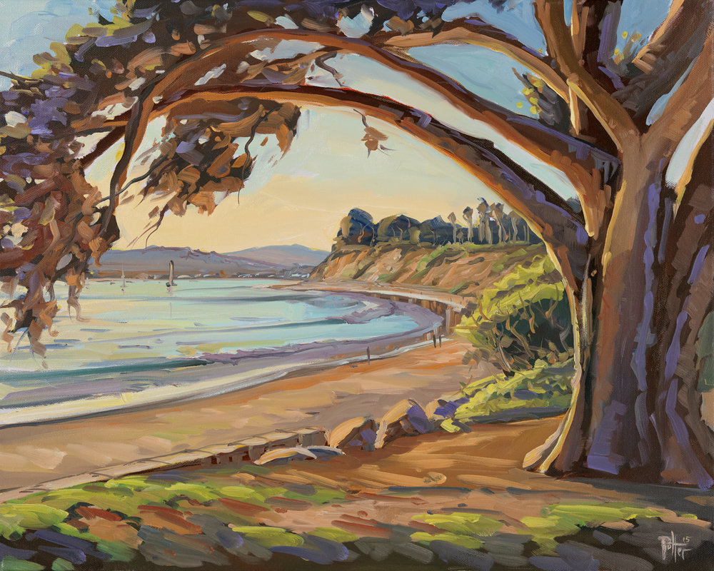 Butterfly Beach Sunset Arch  by Chris Potter.