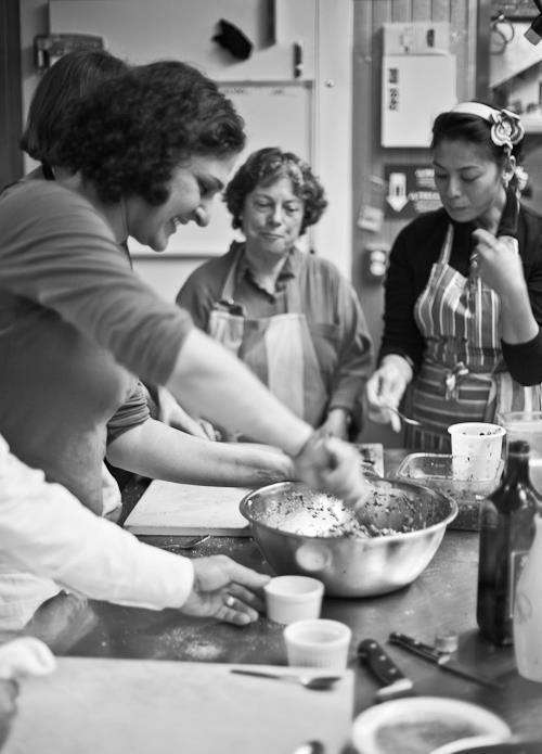Samin Nosrat cooking while smiling! Yum!