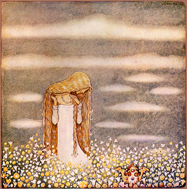 Princess Tuvstarr in the Field  (1913) by Swedish illustator John Bauer.