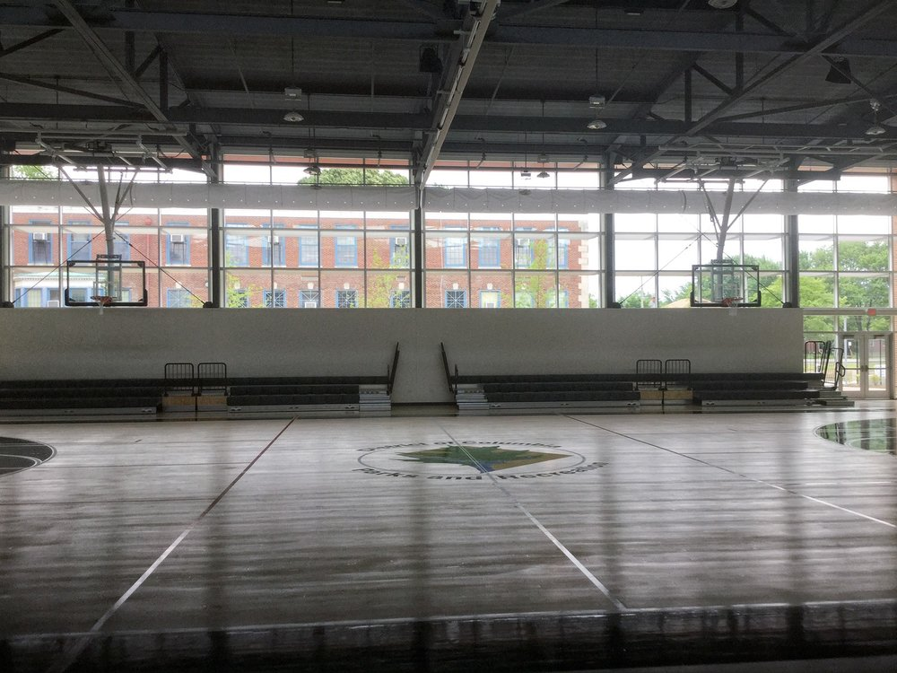 Kenilworth Recreation Center: Carpentry, Cleaning, Painting, and Landscaping