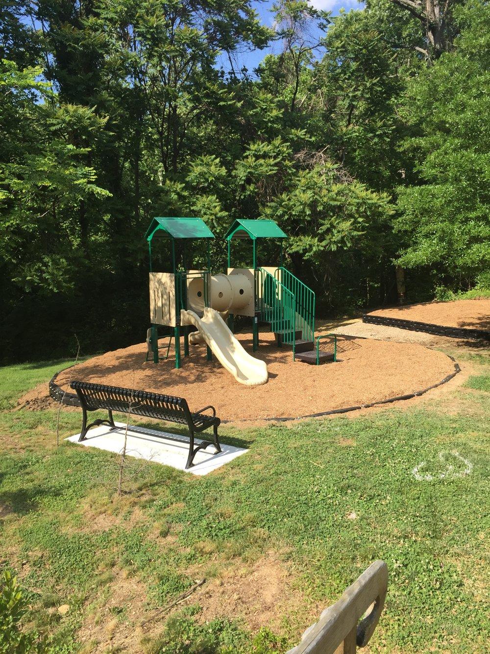 Hillcrest Playground: Excavation