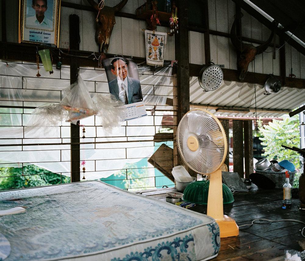 Indoor flash photograph with the Mamiya 7ii.