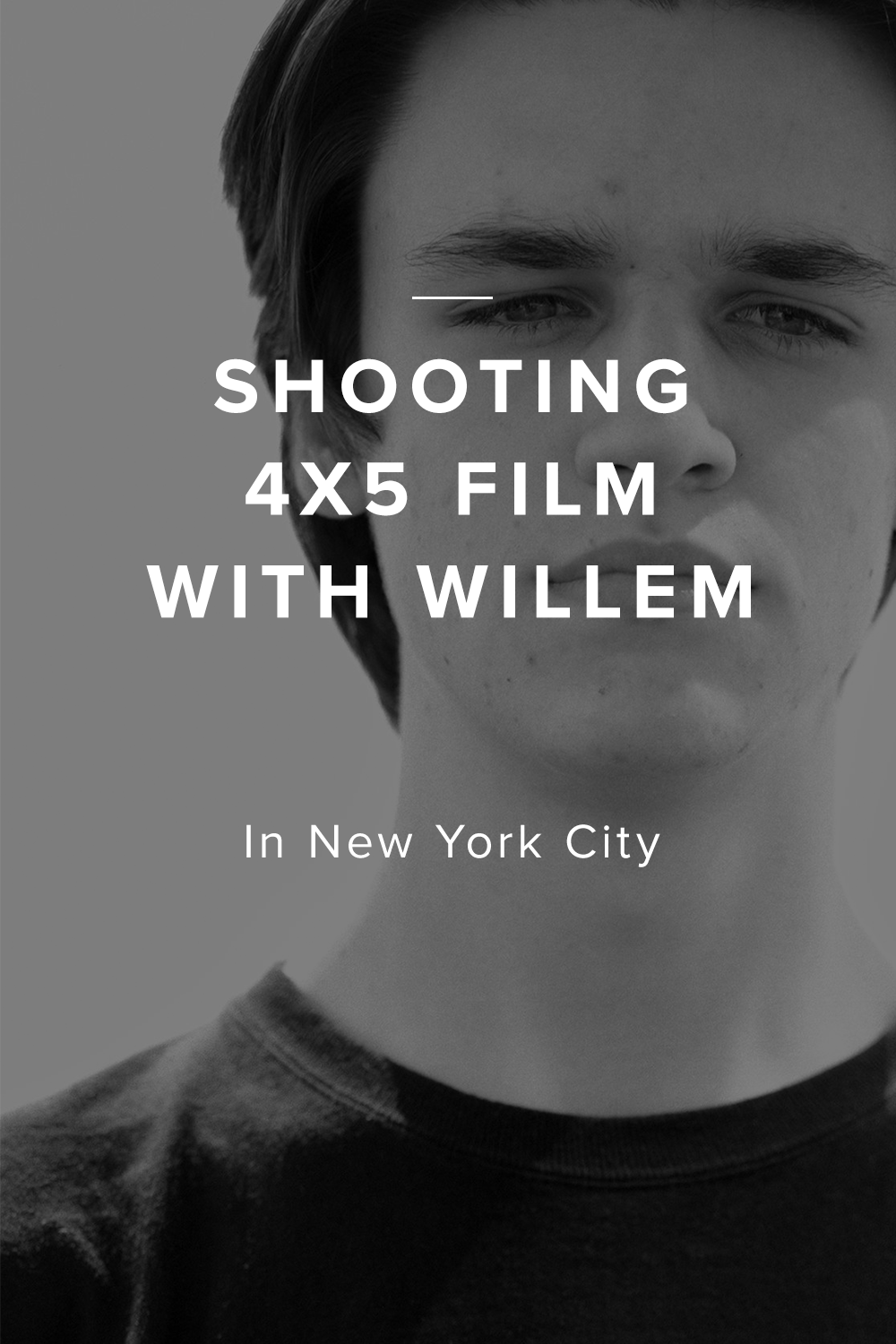 Shooting Large Format 4x5 with Willem Verbeeck | Marc Falzon
