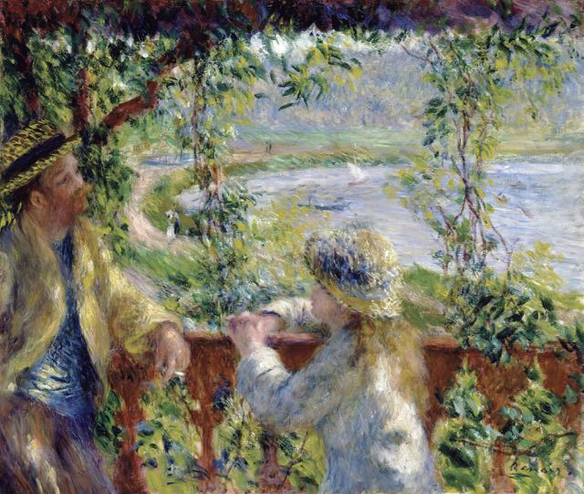 Renoir's work is easy to enjoy.
