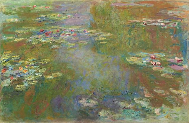 When it comes to Monet, you can't go wrong with water lilies.