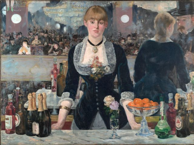 Like most great artists, Manet understood the value of a well-stocked bar.