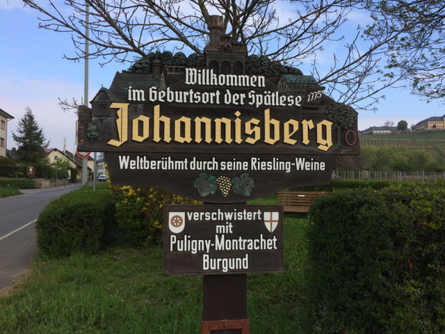 Welcome to Riesling country.