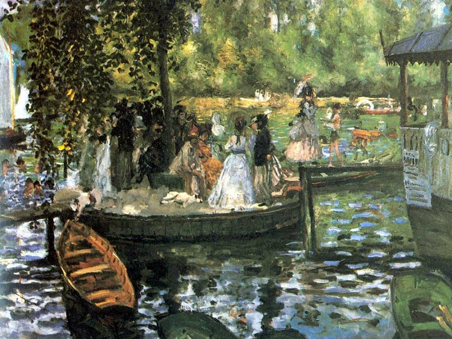 This is Renoir's take on the scene.