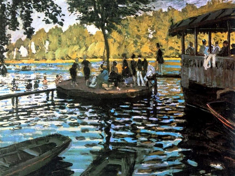 Here's Monet's version.
