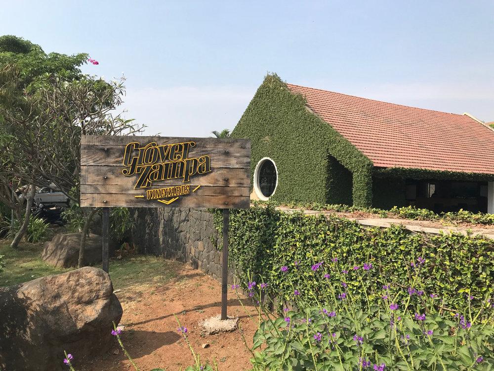 Grover Zampa's Nashik Winery.