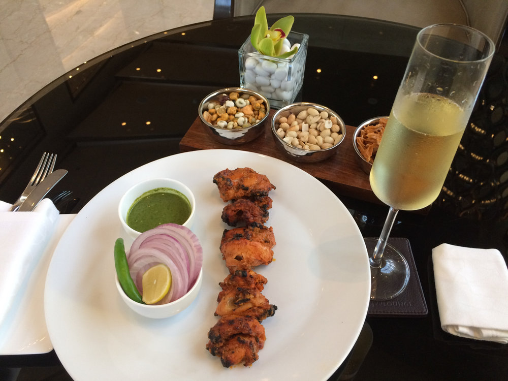 If there's a cuisine better suited for sparkling wine than  Indian , we've not tasted it.