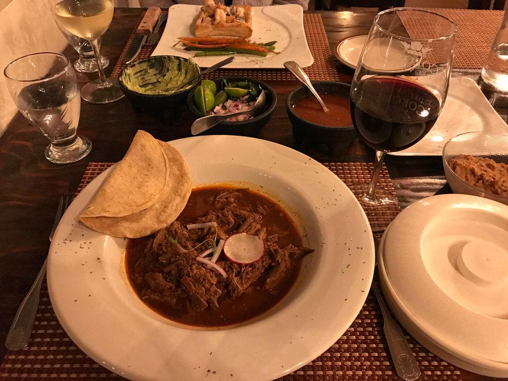 Fine Dining at Corona del Valle.