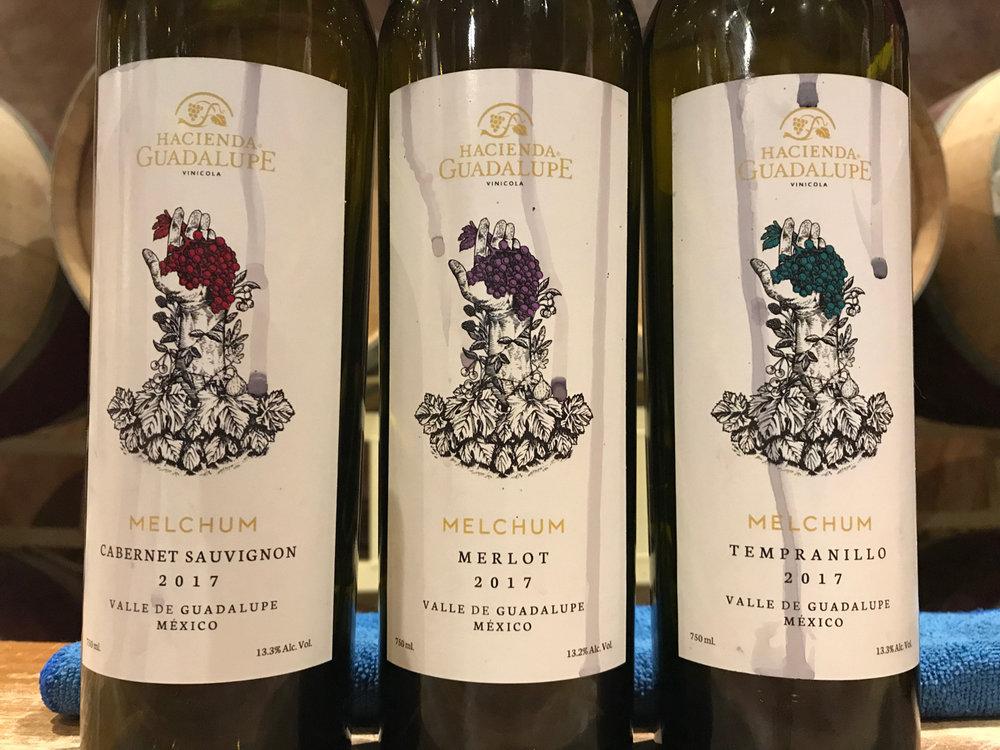 A trio of delightful wines.