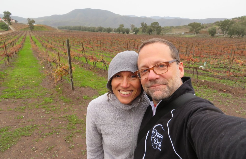 Drum Roll Wine certainly would not exist without the strong and exceptional support of my wife, Sundee.