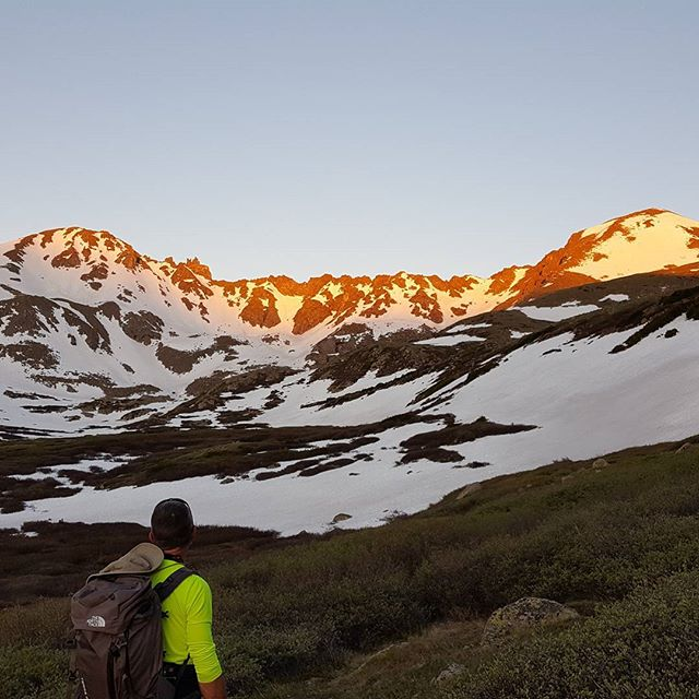Sometimes you just need a sunrise in the high alpine. #gotherestarthere #buenavistaco #colorfulcolorado #14ers