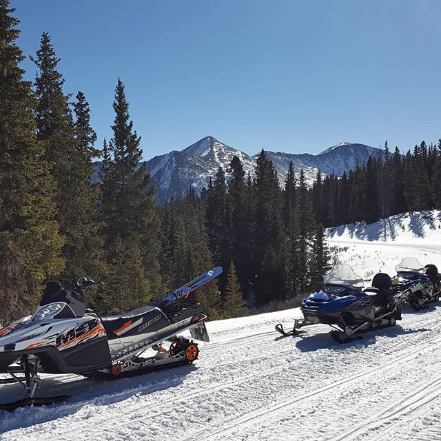 BVMA guide scouting this week near Cottonwood Pass. With the storms coming we'll be running backcountry trips very soon! #bvbackcountry #gotherestarthere #skiing #buenavistaco