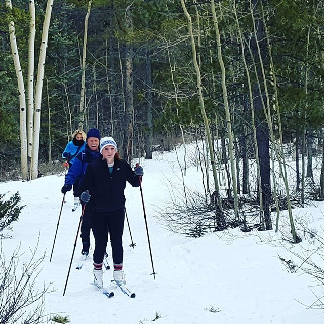 We've had a great time guiding cross country ski tours over the past two weeks. What a perfect way to enjoy winter! #GoThereStartHere #BuenaVistaCO