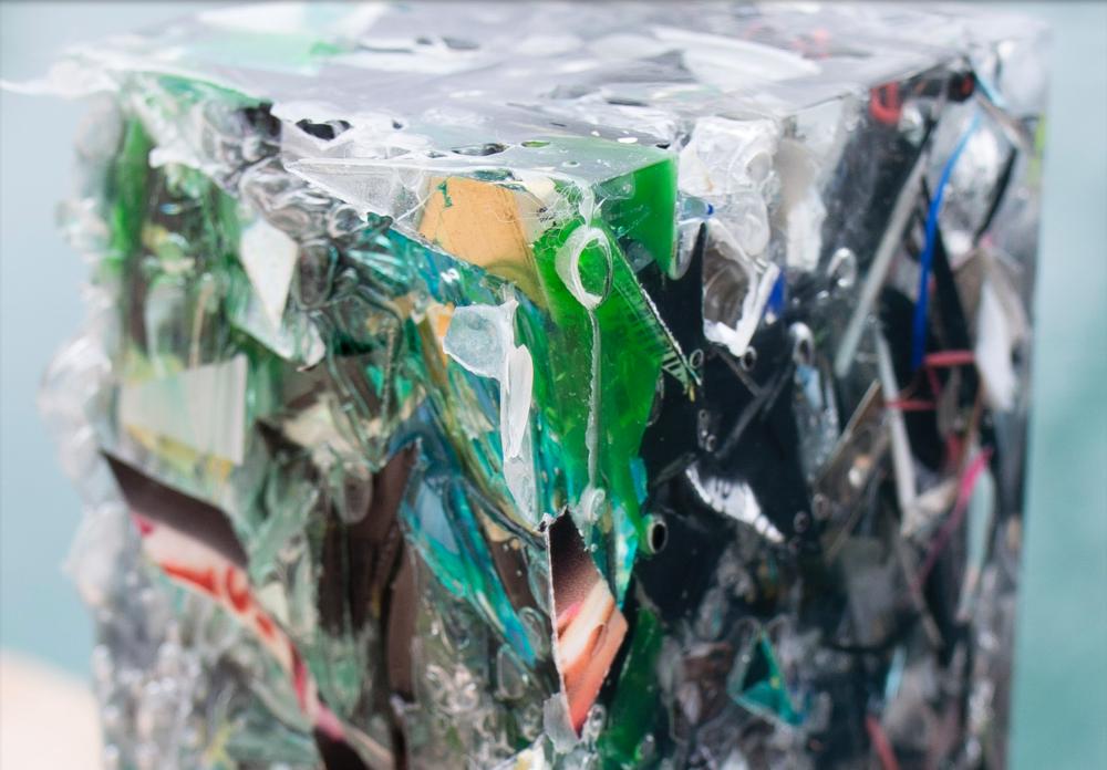Los Angeles made trash. Heavier than reality, harder than fantasy. That's my sculpture, basically. - - Charles Osawa.
