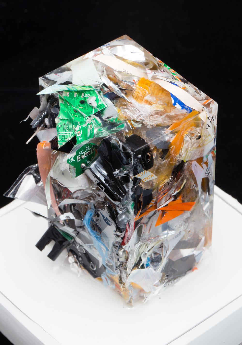 "CHARLES OSAWA ""Trash Sculpture - Shaun"" Size Small"
