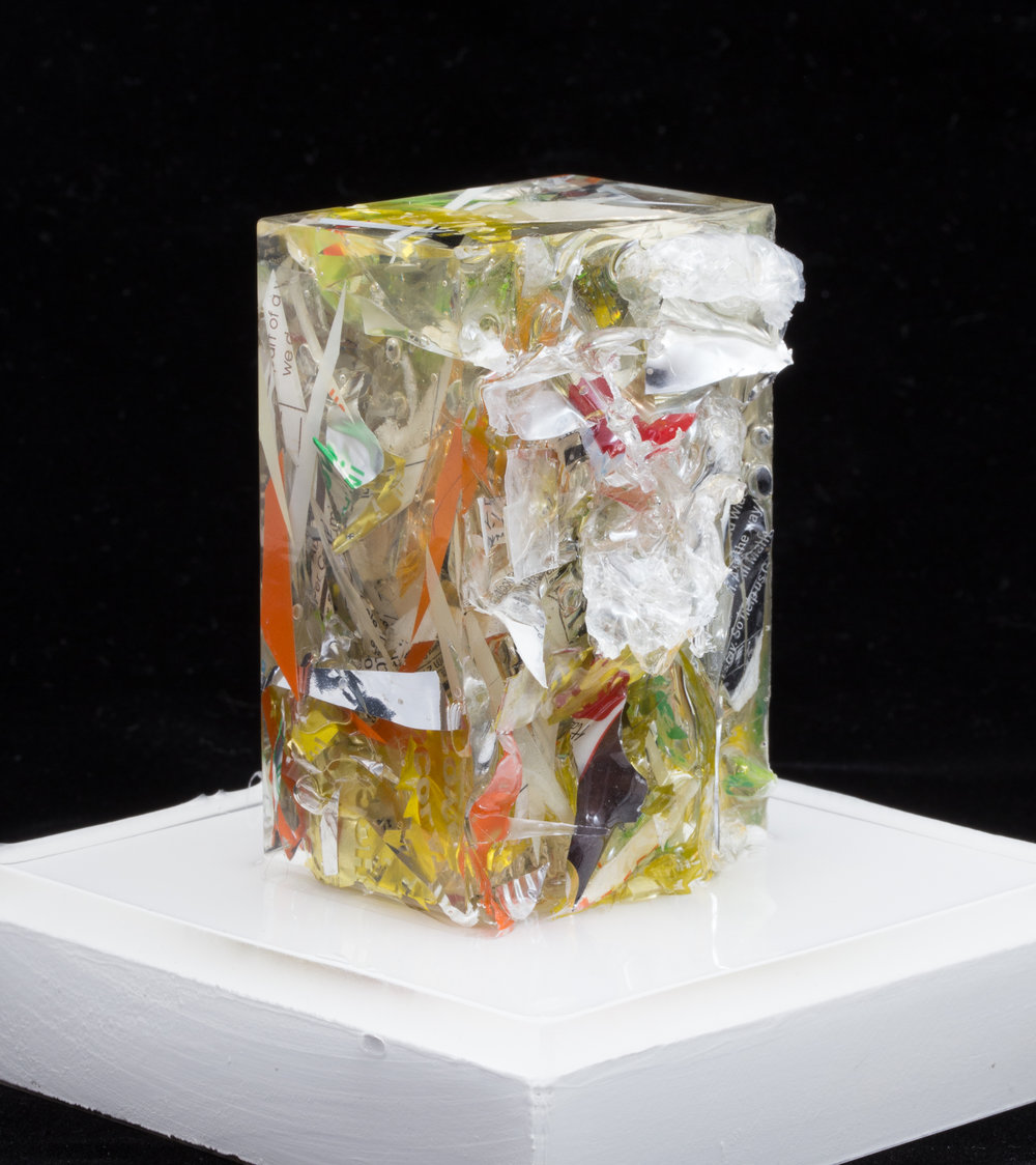 """Hanako - Trash Sculpture"" size small."