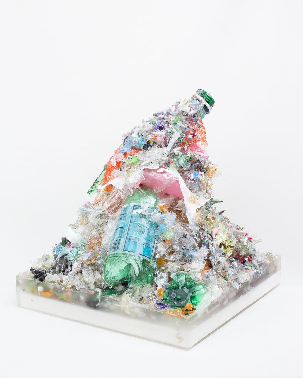 """Standardized Pile of Trash, size Large ( H~16""""xW13""""xD12"""")"""