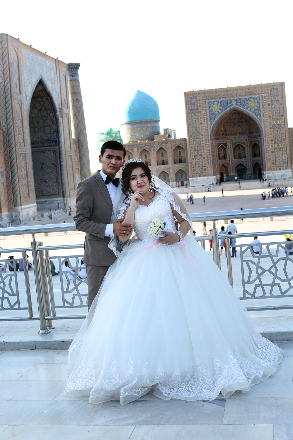 A wedding in Samarkand