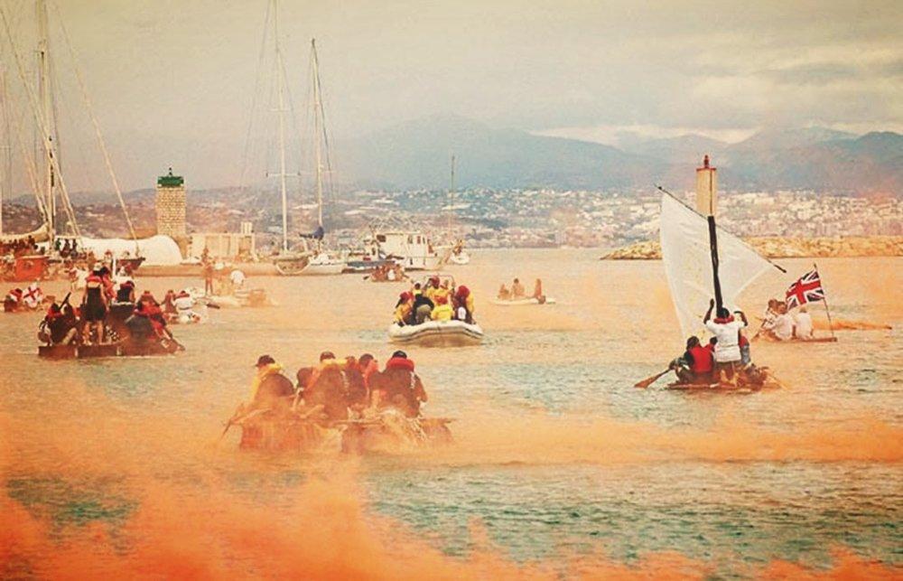 The 2002 Antibes Raft Race