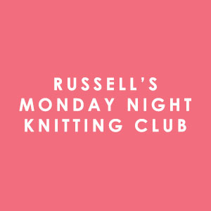 Russell's Monday Night Knitting Club in Normandy