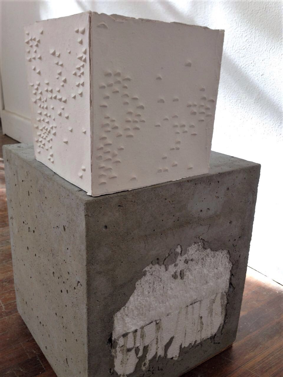 - Not your female artist archetype2016Fired stoneware clay, concrete, polystyrene