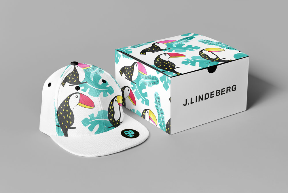 Packaging - J. Lindeberg