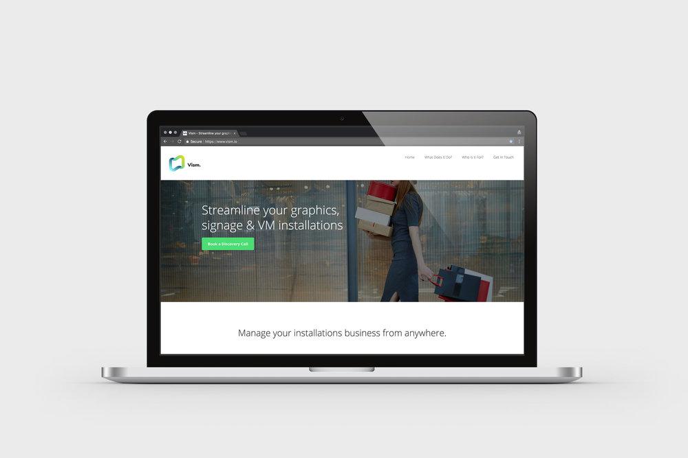 Website design –Vism.