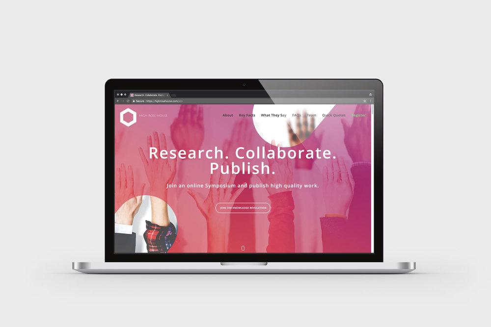 Website design – High Rose House