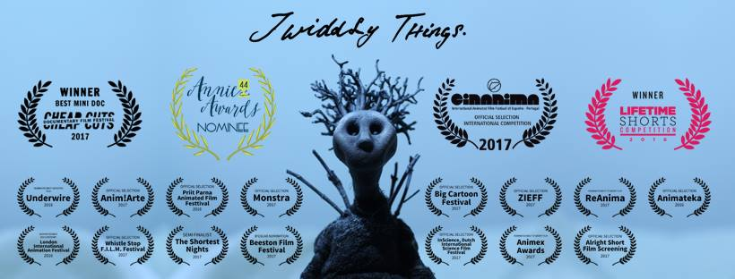 Twiddly Things  - multiple award winning film by Adara Todd
