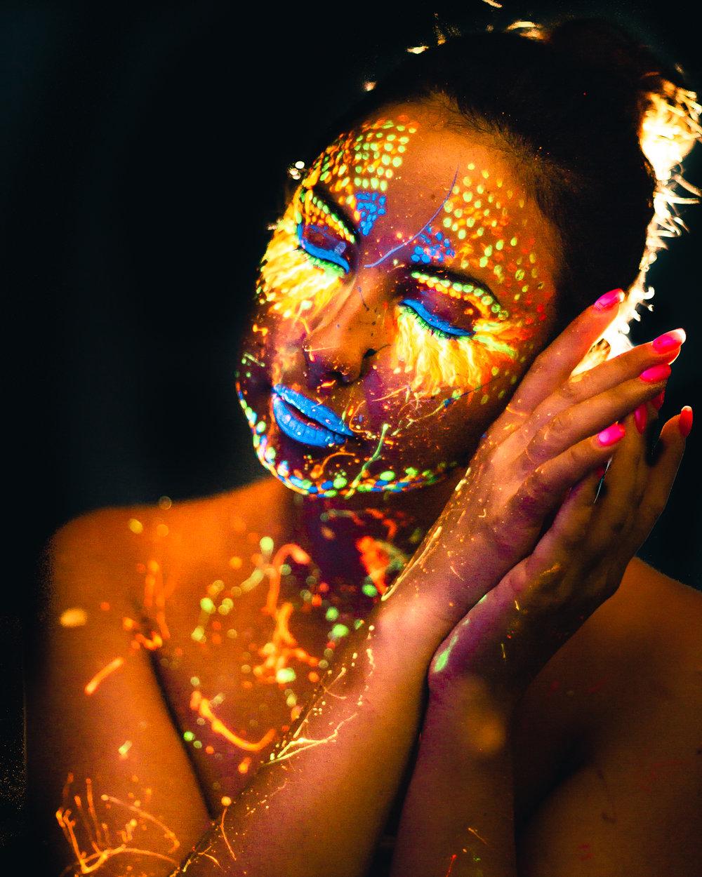 UV portrait photography