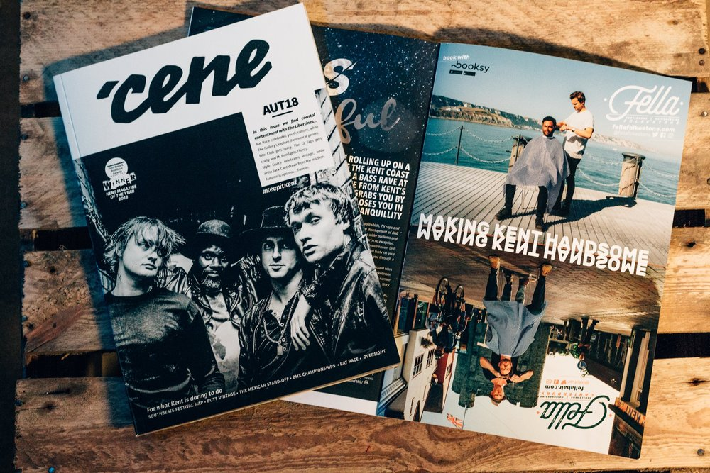 Some of our photos from the shoot recently got published as part of an advert in the award winning 'Cene magazine.