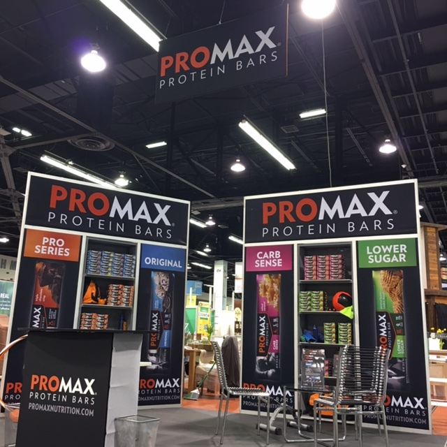 Promax Nutrition - Trade show exhibit