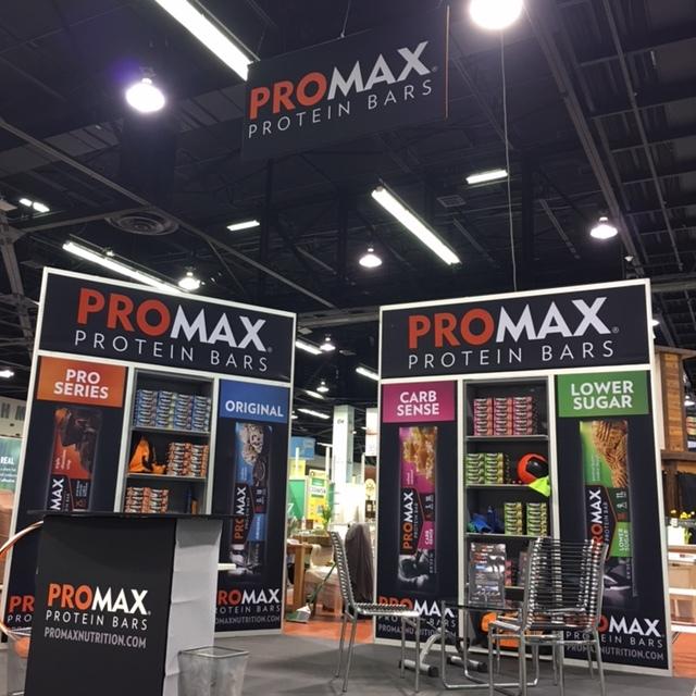 Promax Nutrition - Trade show exhibit